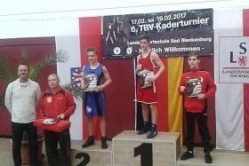 1. Turniersieg durch Emil Schneider