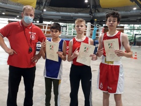Deutsche Meisterschaften der U15 Ticket 7, 8 und 9