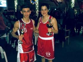 Haxilari gewinnt gegen Bundesligaboxer