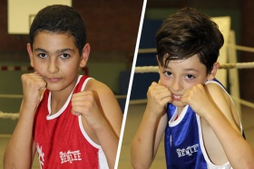 Mohamed Azaough, Miguel Rubia
