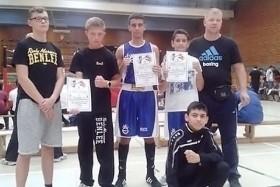 Dreimal Gold und zweimal Silber für Gerresheimer Boxer!