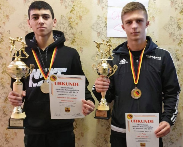 Silber und Bronze bei den Deutschen Meisterschaften