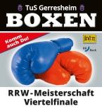 RRW-Meisterschaft Viertelfinale