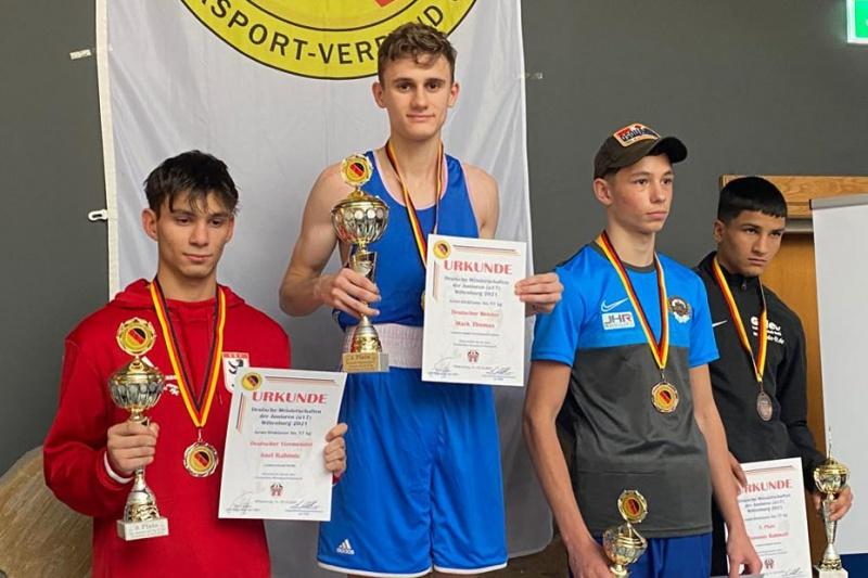 1-mal Deutscher Meister und eine Bronzemedaille