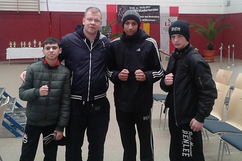 3 Boxer beim Kaderturnier in Thüringen