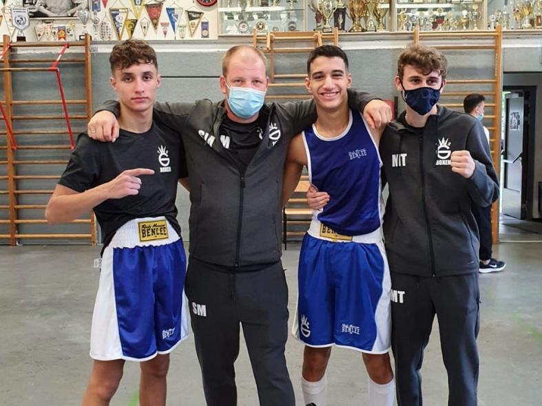 Drei Boxer fahren zur Deutschen Meisterschaften der U17