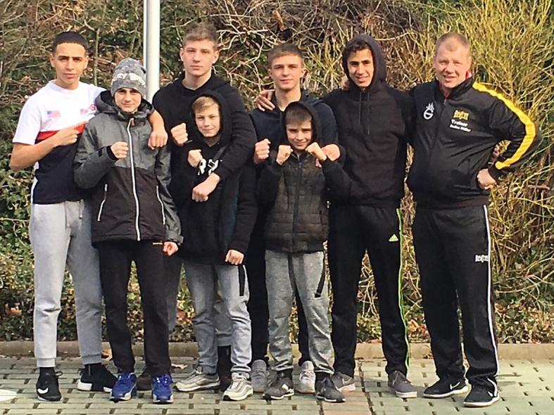 5 Finalteilnahmen beim Kaderturnier in Thüringen
