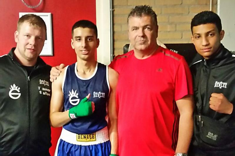 TuS Gerresheim Boxer Adil Auragh gewinnt in Breda