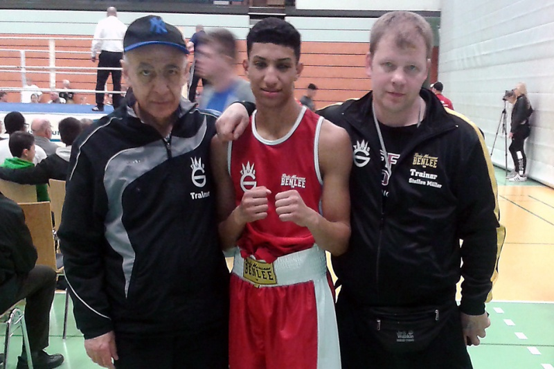 Boxer Imad El Mahi TuS Gerresheim