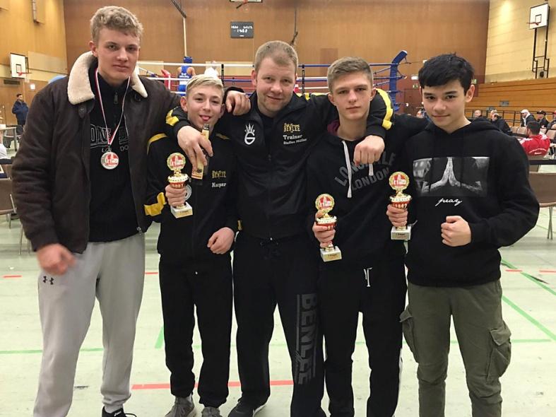 Drei weitere Turniersiege für TuS Gerresheim