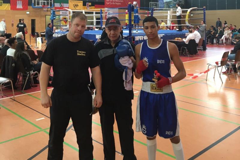 Imad El Mahi - Deutsche Meisterschaften der U21