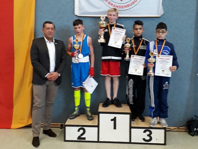 Kacper Gardyjasz, Deutscher Meister bis 40 kg
