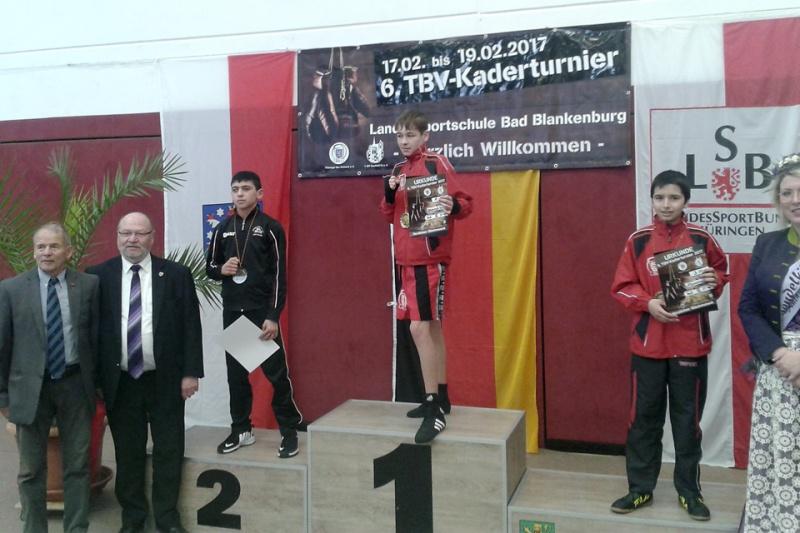 Omar Temurov TuS Gerresheim, Silber beim Kaderturnier in Thüringen