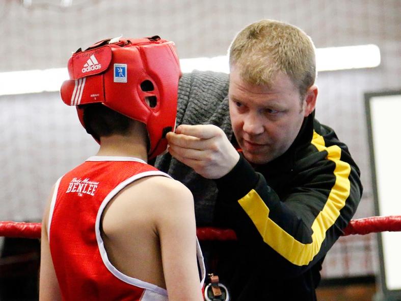 Trainer Steffen Müller