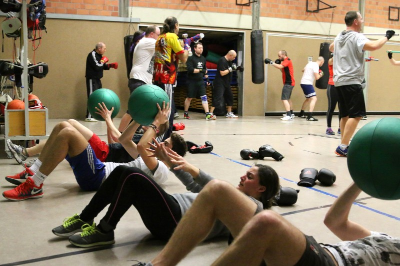 Fitness-Boxen, fit und trainiert durch Boxen!